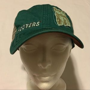 Hooters • Owl Teal Hat Mesh Back New York City